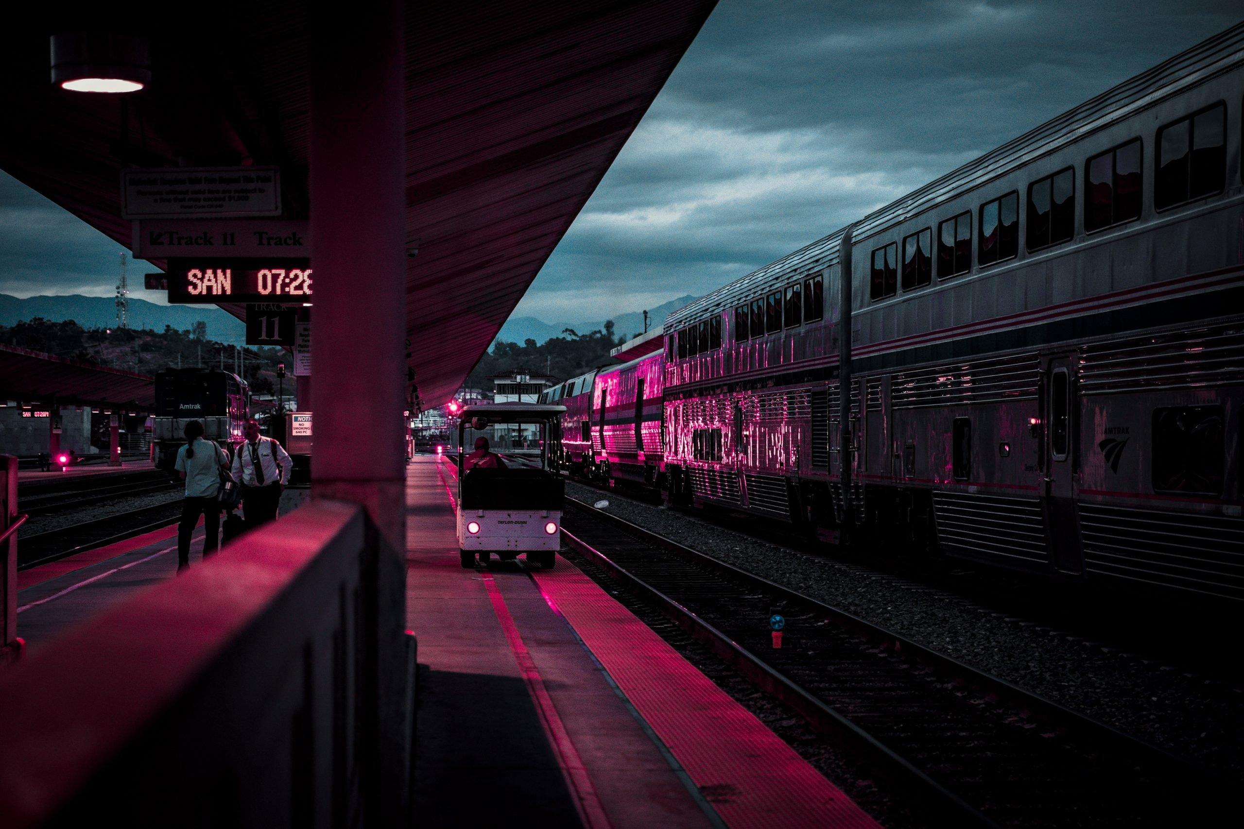 Schienentransporte